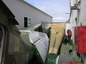 These four U-17s are jammed in a space between two hangars at Stefanovikion.jpg