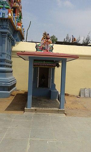 Thiruppaarththanpalli - Image of shrine of Agasthiyar