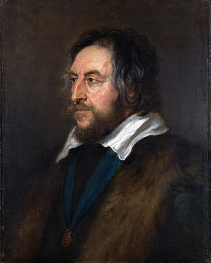 Thomas Howard, 21st Earl of Arundel - Portrait by Peter Paul Rubens.