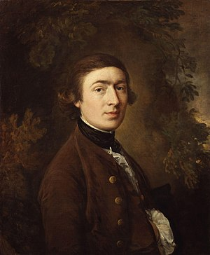 Thomas Gainsborough - Self-portrait (1759)