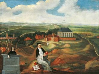 Thomas à Kempis - Thomas à Kempis on Mount Saint Agnes – (1569)