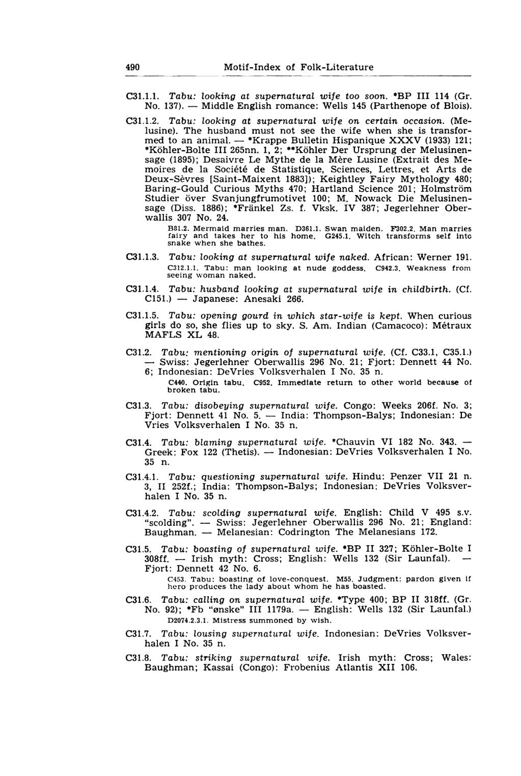 Page:Thompson Motif-Index 2nd 1 djvu/496 - Wikisource, the