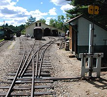 Railroad switch - Wikipedia, the free encyclopedia