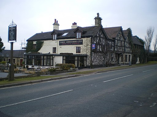 Three Horseshoes Inn, Blackshaw Moor - geograph.org.uk - 1757899