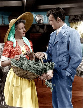 Robert Walker (actor, born 1918) - Dorothy Patrick and Walker in Till the Clouds Roll By (1946)