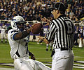 Tim Jefferson scores TD at Air Force at TCU 2010-10-23.JPG