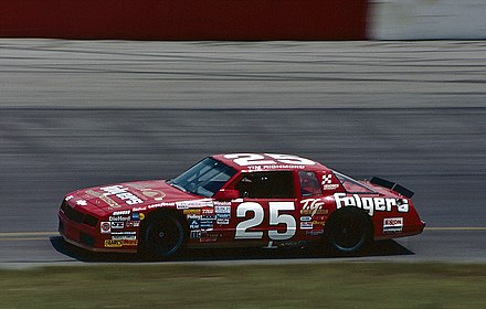 Tim Richmond's No.25 Folgers Chevrolet Tim Richmond 25 Folgers.jpg