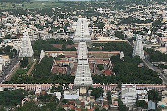 Ramana Maharshi -  Arunachaleswara Temple, Tiruvannamalai