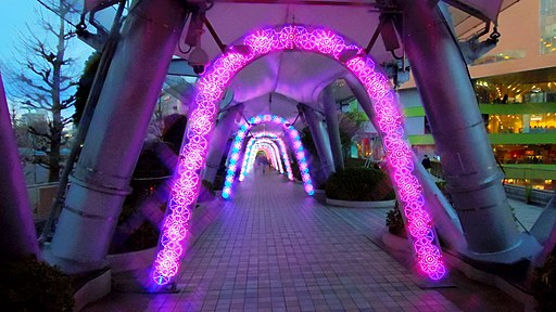 Tokyo Dome City Winter Illumination 160213-1