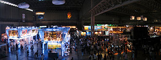 History of the Tokyo Game Show - 2007 showfloors 1-3 panorama