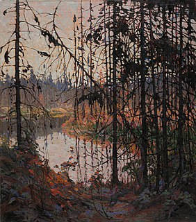 <i>Northern River</i> (painting) painting by Tom Thomson