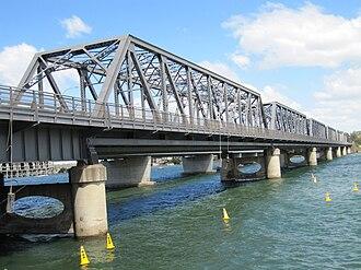 Tom Uglys Bridge - Image: Tom Uglys Bridge 2