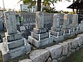 Tombstones of Mariyama domain's Samurai 1.jpg