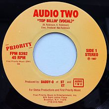 Top Billin' by Audio Two US 7-inch vinyl Side A.jpg