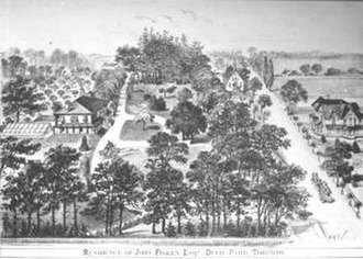 Deer Park, Toronto - Deer Park in 1878. The name of the neighbourhood dates back to 1837, as the name of the Heath family property on the northwest side of St. Clair Avenue and Yonge Street.