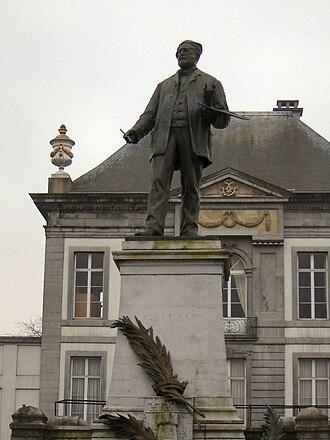 Louis Gallait - Statue of Louis Gallait in Tournai