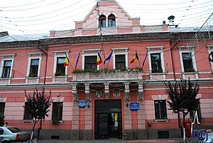 Dej - Image: Town hall dej