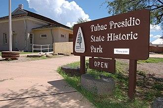Tubac Presidio State Historic Park - Entrance to Tubac Presidio State Historic Park