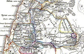 Batanaea - Image: Trachonitis zur Römerzeit