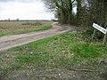 Track leading to Winterdown Farm - geograph.org.uk - 360082.jpg