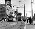 Trams near Blackpool Tower - geograph.org.uk - 1614620.jpg