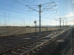 Tramway at Edinburgh Airport (geograph 3243405).jpg