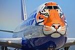 Transaero (Siberian Tiger livery), EI-XLN, Boeing 747-412 (21110098603).jpg