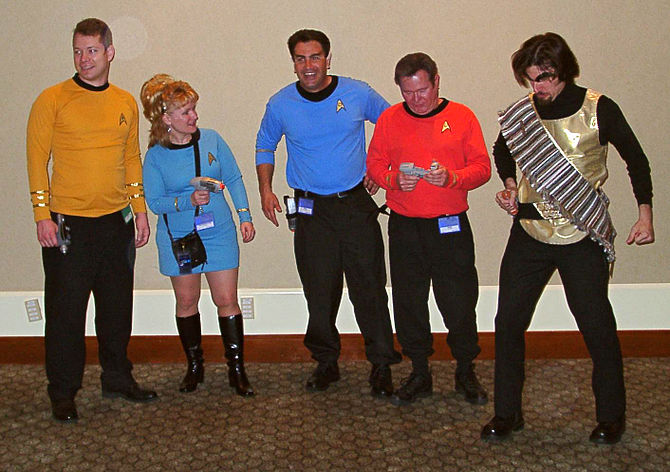 The Original Series Trekkies at BayCon 2003