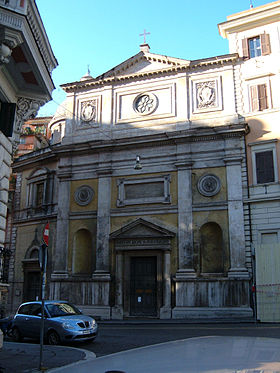 image illustrative de l'article Église San Silvestro al Quirinale