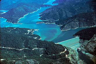 Trinity County, California - Image: Trinity lake California
