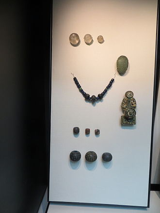 Tromsø - Hoard of Viking jewellery found in Tromsø dating from 7–8th Centuries AD now in the British Museum.