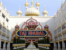 Da entrizzle of tha Trump Taj Mahal, a cold-ass lil casino up in Atlantic City. Well shiiiit, it has motifs evocatizzle of tha Taj Mahal up in India.