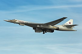 Tupolev Tu-160 in flight.jpg