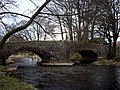 Twin bridges over Haweswater Beck. - geograph.org.uk - 738030.jpg