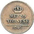 Two Sicilies 1849 coin - half tornese (reverse).jpg