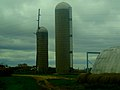 Two Silos near Eastman - panoramio.jpg