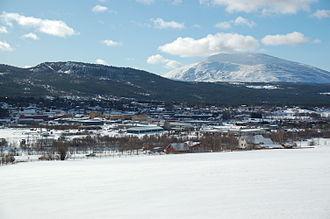 Tynset - Tynset seen from northwest