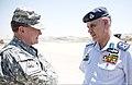 U.S. Army Gen. Martin E. Dempsey, left, the chairman of the Joint Chiefs of Staff, and Royal Jordanian Air Force (RJAF) Maj. Gen. Malek Al-Habashneh, the chief of the RJAF, meet in Amman, Jordan, Aug. 15, 2013 130815-D-VO565-006.jpg