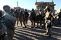 U.S. Marines with Transportation Support Company, Combat Logistics Regiment 2, 2nd Marine Logistics Group, undergo realistic scenarios while executing a movement rehearsal exercise during Enhanced Mojave Viper 120926-M-KS710-034.jpg