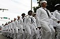 U.S. Sailors stationed at Naval Air Station Key West, Fla., march in a Veterans Day parade in downtown Key West Nov. 11, 2013 131111-N-YB753-078.jpg
