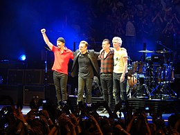U2 at United Center, Chicago June 25, 2015.jpg