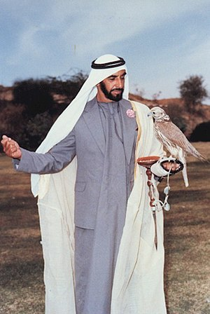United Arab Emirates - Zayed bin Sultan Al Nahyan is the first President of the United Arab Emirates and is widely recognized as the father of the nation.