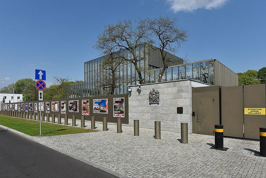 Embassy of the United Kingdom, Warsaw