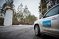 UNICEF car in the field (Eastern Ukraine) (16518127679).jpg