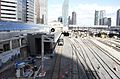 UPX's Union Station and train from SkyWalk (17280902185).jpg