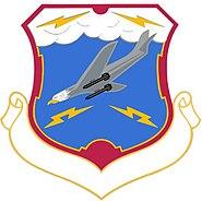 USAF 27th Air Division Crest