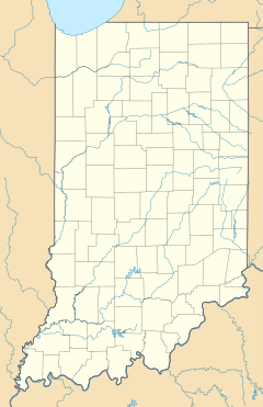 New Castle is located in Indiana
