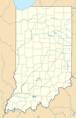 Rockdale, Indiana is located in Indiana