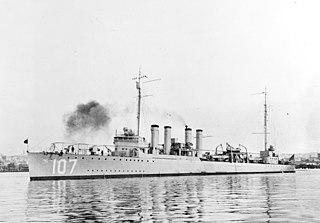 USS <i>Hazelwood</i> (DD-107)
