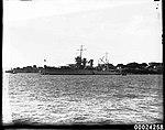 USS ASTORIA in Farm Cove, Sydney, August 1934 (8180244456).jpg